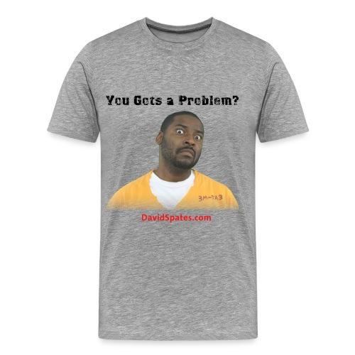 Problem - Porn talk Men's Heavyweight T-Shirt - Men's Premium T-Shirt