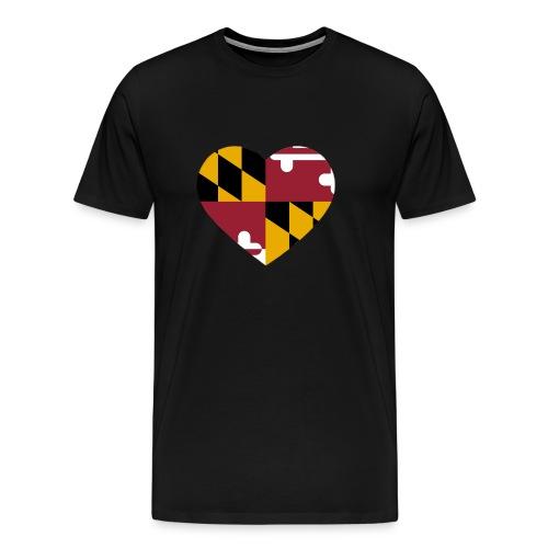MD Heart - Men's Premium T-Shirt