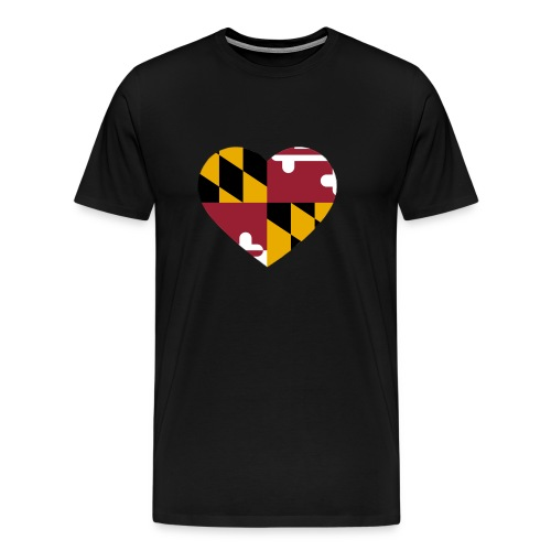 MD Heart - Men's Premium T-Shirt
