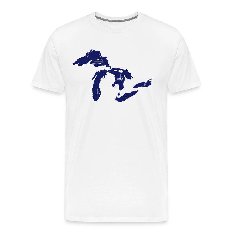 MI Sailing - Men's Premium T-Shirt