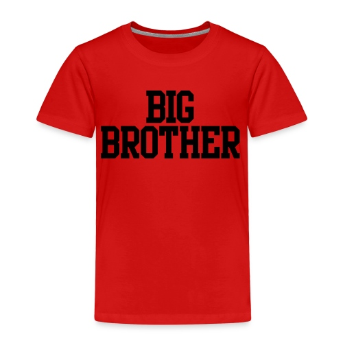 Big Brother Toddler Tee - Toddler Premium T-Shirt