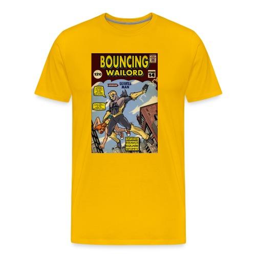 Bouncing Wailord #14 Cover T-shirt - Men's Premium T-Shirt