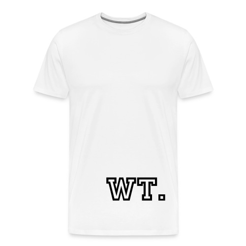 Original wt (White) - Men's Premium T-Shirt