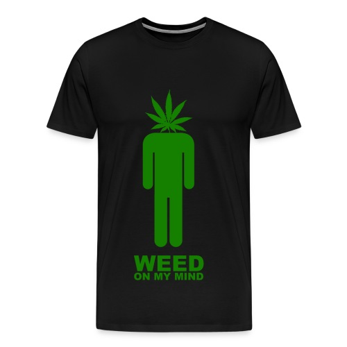mind weed - Men's Premium T-Shirt