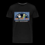 T-Shirts ~ Men's Premium T-Shirt ~ LEGENDARY! - Black Heavy Weight
