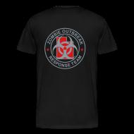 T-Shirts ~ Men's Premium T-Shirt ~ 2-UTLogo-M3XL (Silver& Red)