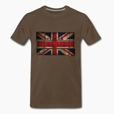 Punks Not Dead on the English flag.  T-Shirts