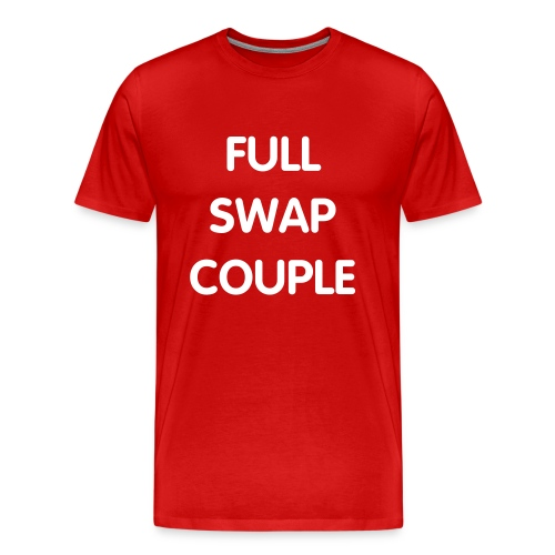 FULL SWAP COUPLE T-SHIRT - Men's Premium T-Shirt