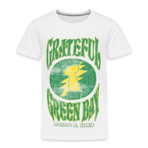 Grateful Green Bay - Toddler Premium T-Shirt