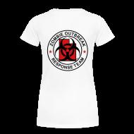 T-Shirts ~ Women's Premium T-Shirt ~ 2-UTLogo-FPlus-Full (Black & Red)