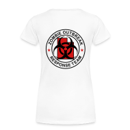Women's T-Shirts ~ Women's Premium T-Shirt ~ 2-UTLogo-FPlus-Full (Black & Red)