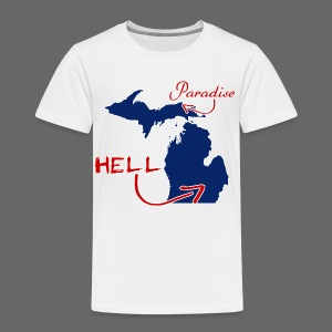 Paradise and Hell - Toddler Premium T-Shirt
