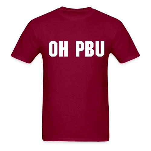 Oh PBU - Men's T-Shirt
