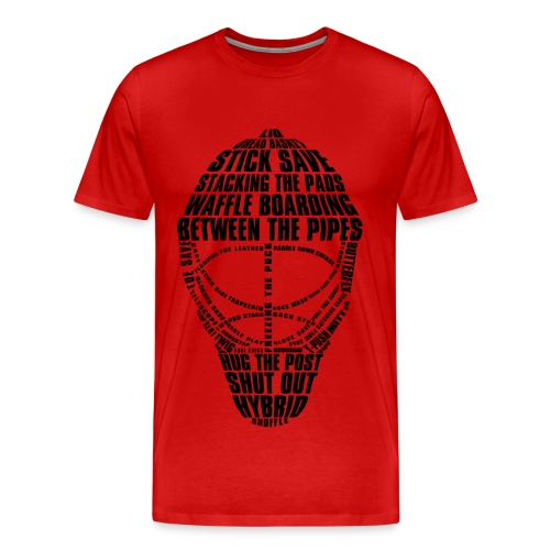 Goalie - Men's Premium T-Shirt