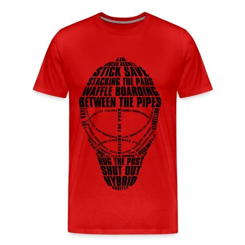 Goalie - Men's Premium T-Shirt