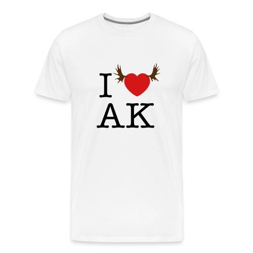 I HEART AK T-Shirt - Men's Premium T-Shirt