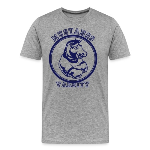 Mustangs Football - Men's Premium T-Shirt