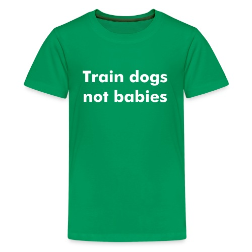 train dog - Kids' Premium T-Shirt