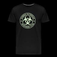 T-Shirts ~ Men's Premium T-Shirt ~ 1-ULogo-MHvyWht-Full (Glowing)