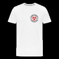 T-Shirts ~ Men's Premium T-Shirt ~ 2-ULogo-MHvyWht (Black & Red)