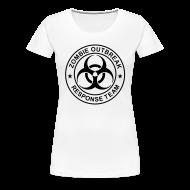 T-Shirts ~ Women's Premium T-Shirt ~ 1-ULogo-FPlus-Full (Black)