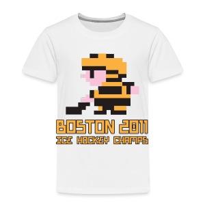 Boston Ice Hockey Champs - Toddler Premium T-Shirt