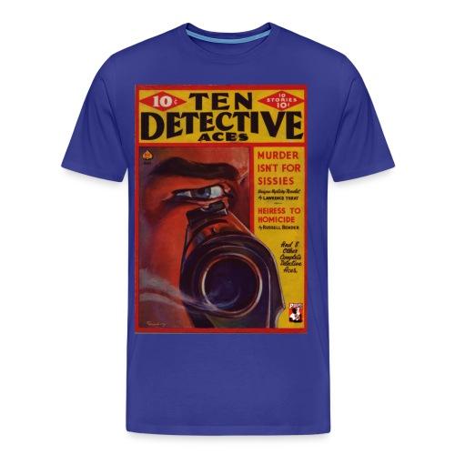 3XL Ten Detective Aces - Men's Premium T-Shirt