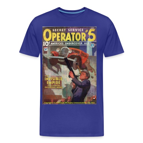3XL Operator #5 Invisble Empire - Men's Premium T-Shirt