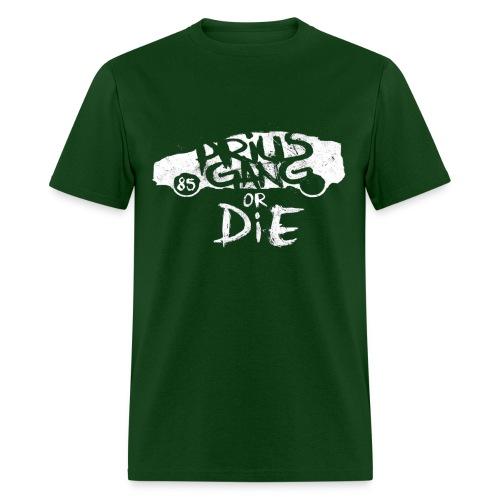 Prius Gang or Die Graffiti : Mens - Men's T-Shirt