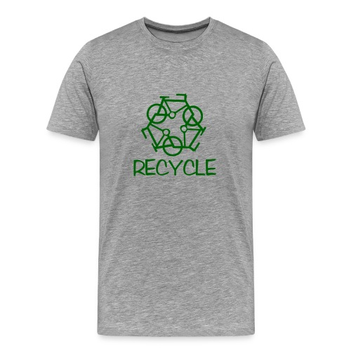 Recycle Bike Tee  - Men's Premium T-Shirt