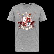 T-Shirts ~ Men's Premium T-Shirt ~ Family Don't End With Blood crest