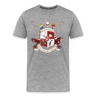 T-Shirts ~ Men's Premium T-Shirt ~ Family Don't End With Blood crest