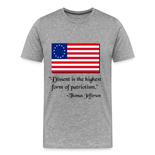 Men's Premium T-Shirt - occupy the street