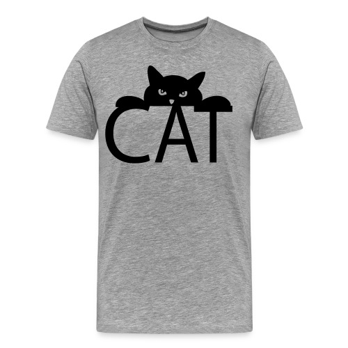 MEN'S - Cat - Men's Premium T-Shirt
