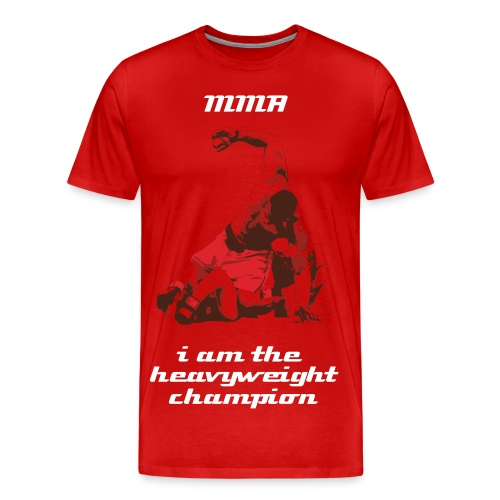 mma i am the heavyweight champion - Men's Premium T-Shirt