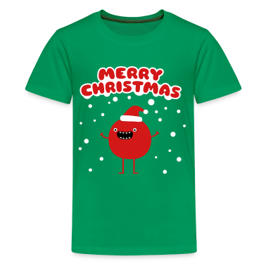 Funny Santa Claus - Merry Christmas Kids' Shirts