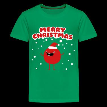 Funny Santa Claus - Merry Christmas Kids' Shirts
