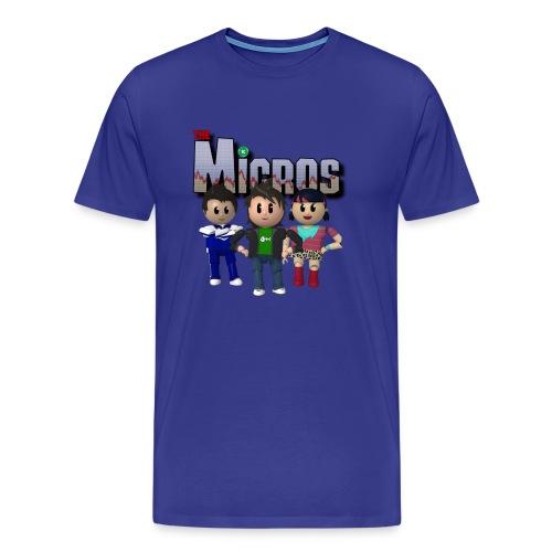 Micros RunGood T - 3XL & 4XL - Men's Premium T-Shirt