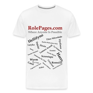RolePages Character Name Shirt 3 - 10/17/11 - Men's Premium T-Shirt