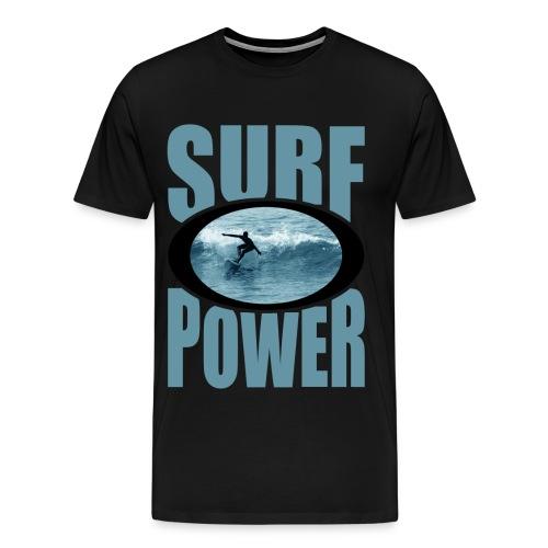 Surf Power - Men's Premium T-Shirt