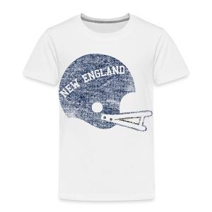 Vintage New England Football Helmet - Toddler Premium T-Shirt
