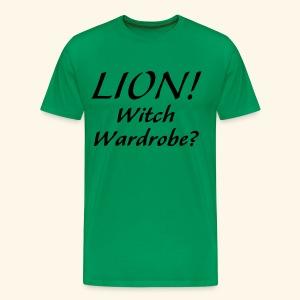 Lion! Witch Wardrobe? - Men's Premium T-Shirt