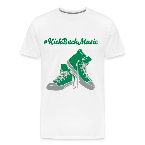 Kick back music tee #1 - Men's Premium T-Shirt