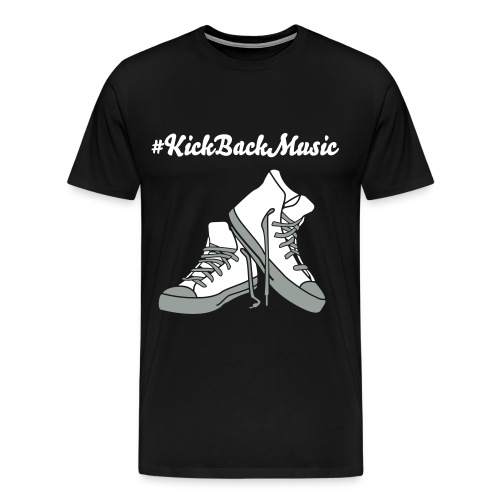 Kick back music tee #2 - Men's Premium T-Shirt