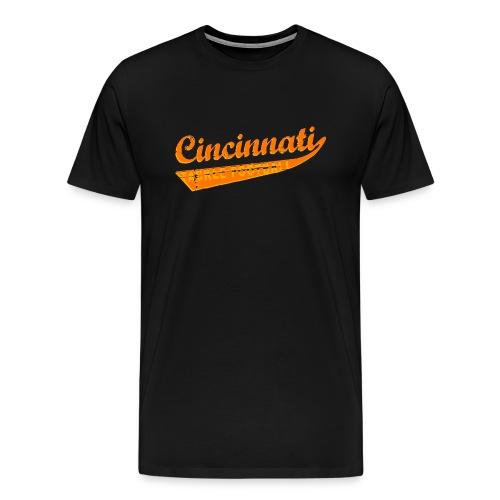 Cincinnati Tackle Football - Bengals - Men's Premium T-Shirt