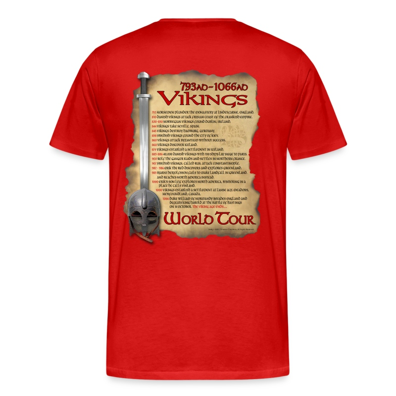 Viking World Tour II - Men's Premium T-Shirt