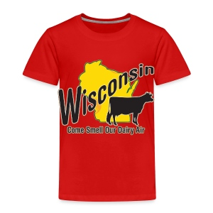 Wisconsin Dairy Air - Toddler Premium T-Shirt