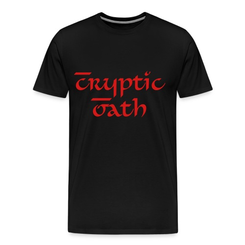 Cryptic Oath Basic T-Shirt - Men's Premium T-Shirt