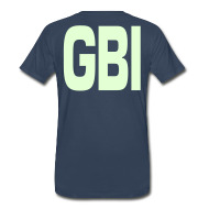 T-Shirts ~ Men's Premium T-Shirt ~ Freeze, Casper! (print on back)