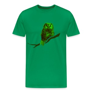 shirt owl owlet bird night wings feather nature forest hunter hunting - Men's Premium T-Shirt